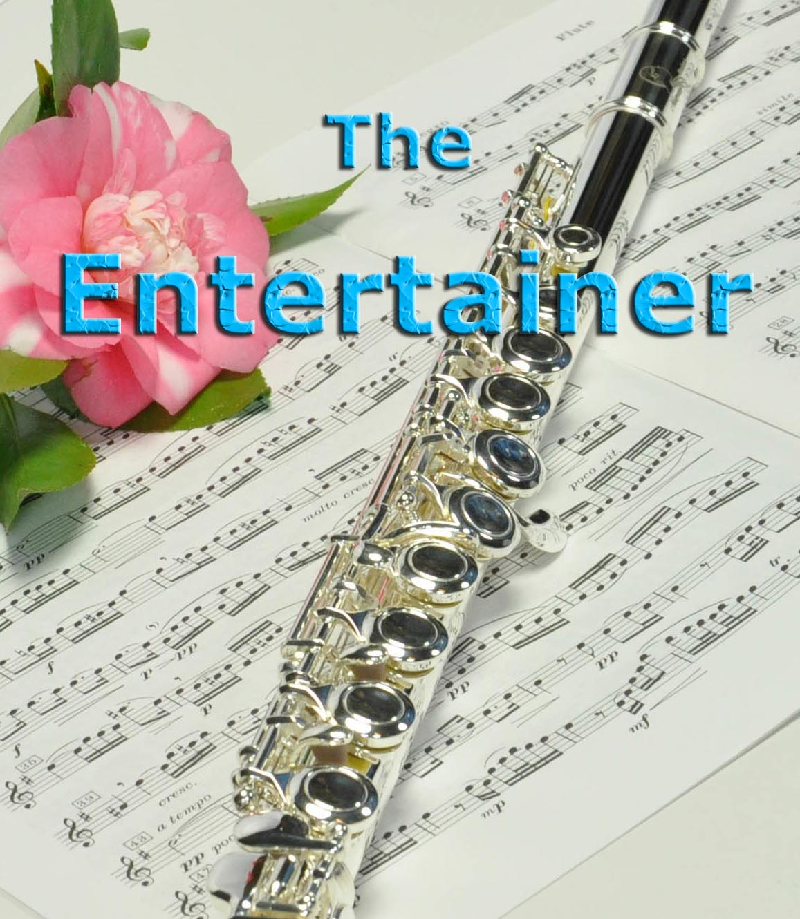Sheet-Music-flute-The-Entertainer-flute-easy-Cover