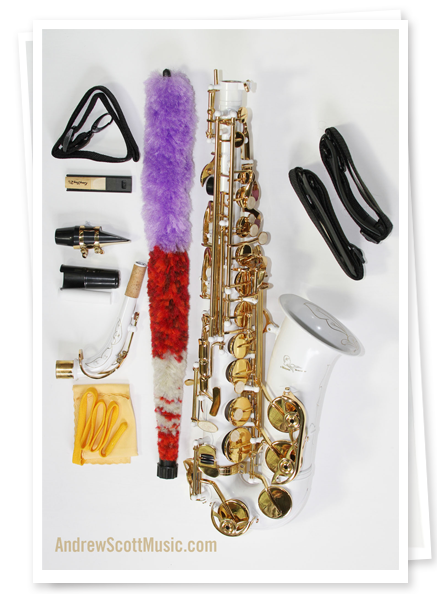 White Gold Alto Saxophone Specifications