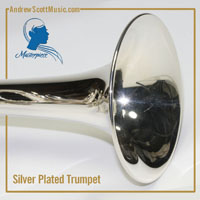 Silver Plated Trumpet